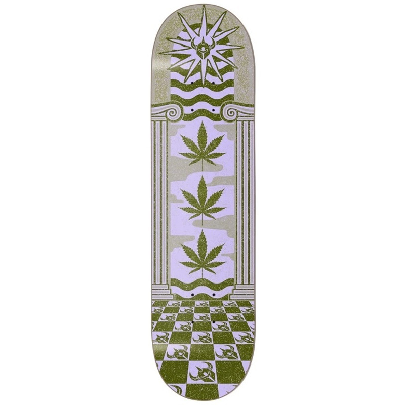 Darkstar Mirage RHM Skateboard Deck Army Green 8.0