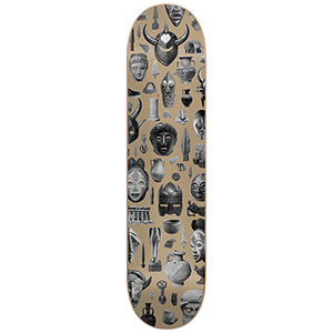 Darkstar Relic HYB Skateboard Deck Tan 8.25