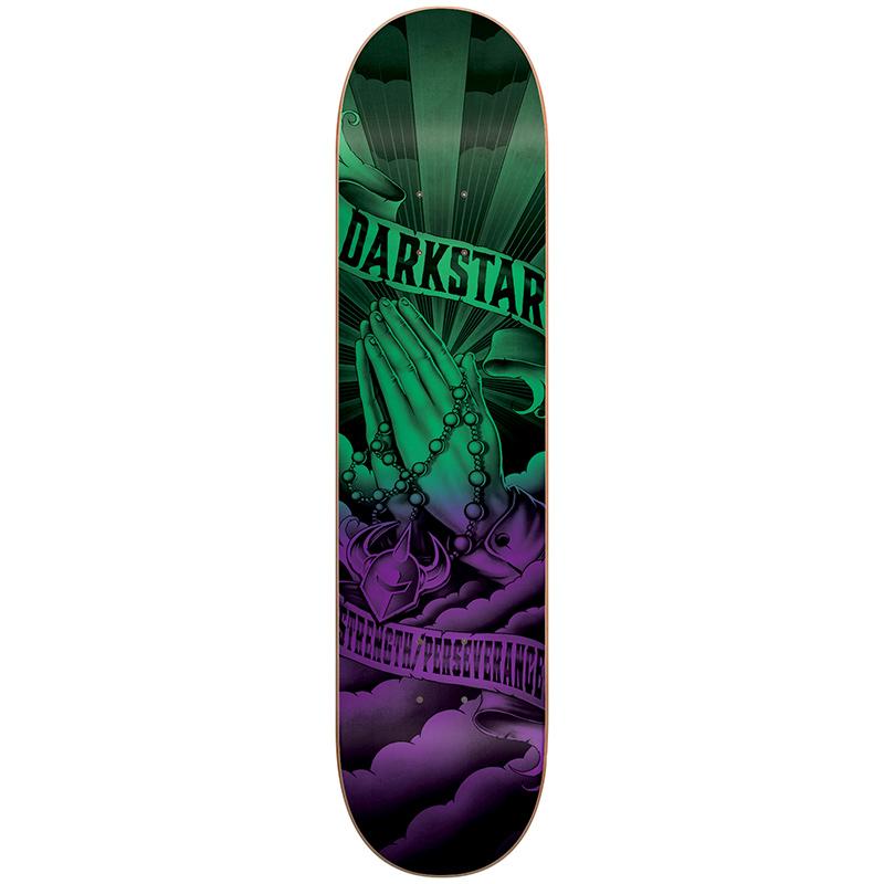 Darkstar Salvation HYB Green/Purple Skateboard Deck 8.125