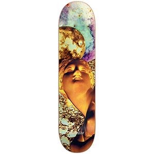 Darkstar Solar HYB Skateboard Deck Yellow 7.75