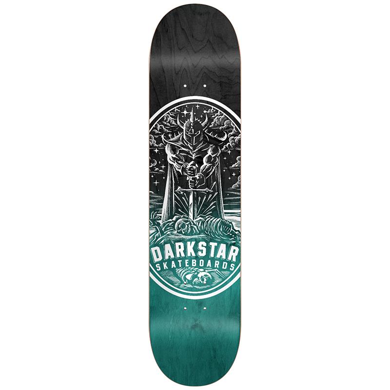 Darkstar Warrior HYB Skateboard Deck Aqua 8.0
