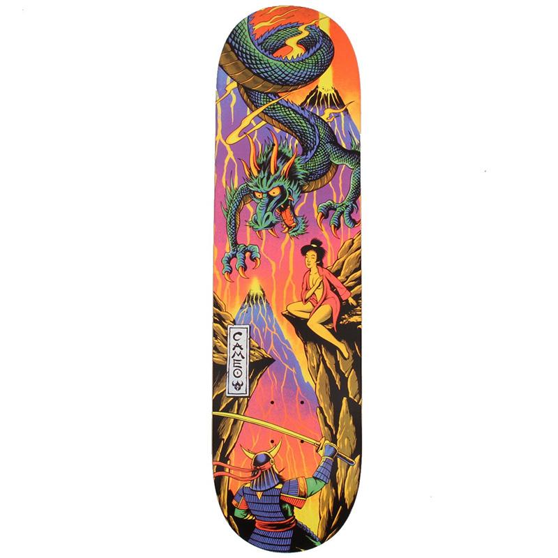 Darkstar Wilson Blacklight R7 Skateboard Deck 8.25