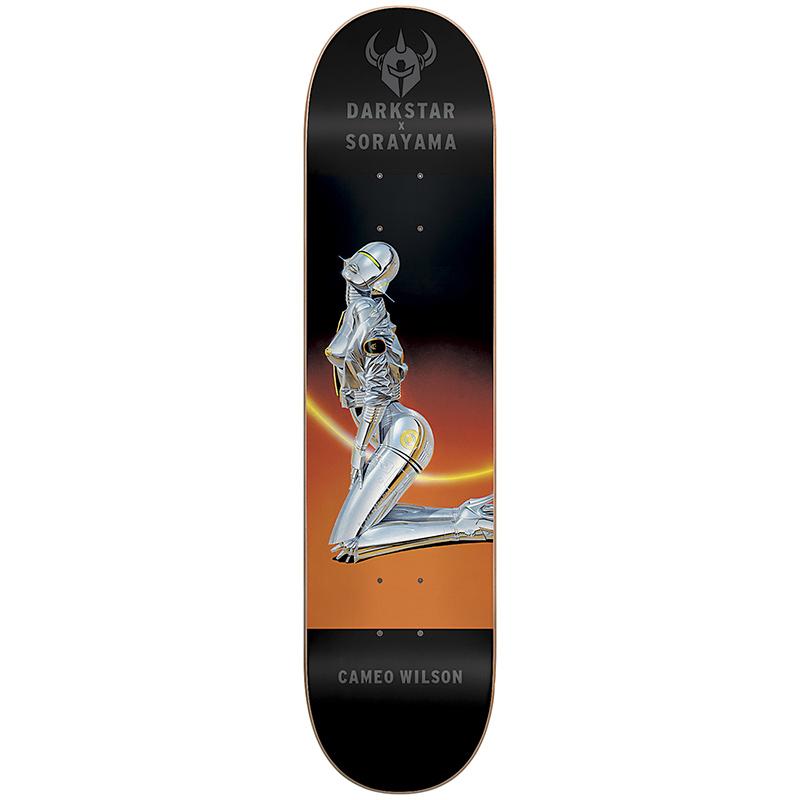 Darkstar x Sorayama Cameo Wilson R7 Skateboard Deck 8.0