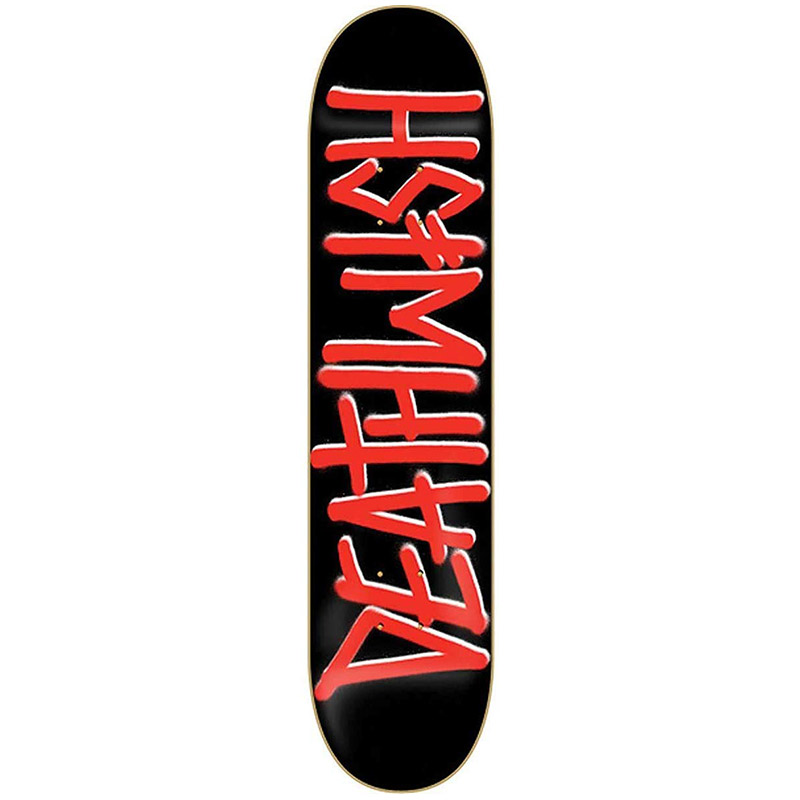 Deathwish Deathspray Red Skateboard Deck 8.25