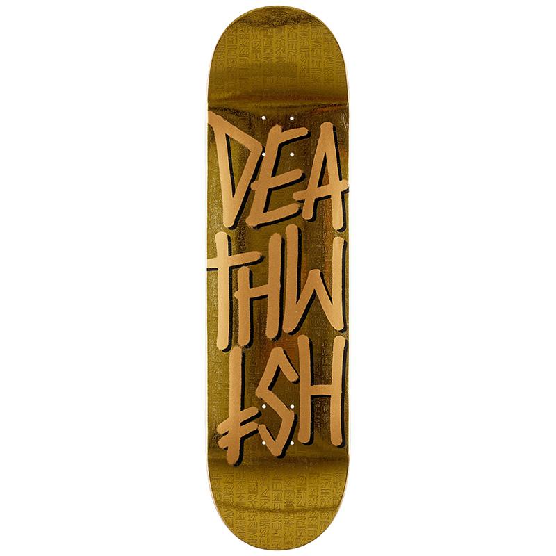 Deathwish Deathstack Temple Skateboard Deck 8.3875