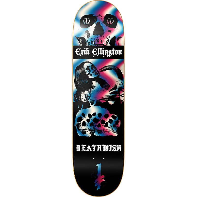 Deathwish Erik Ellington Colors Of Death Skateboard Deck 8.0