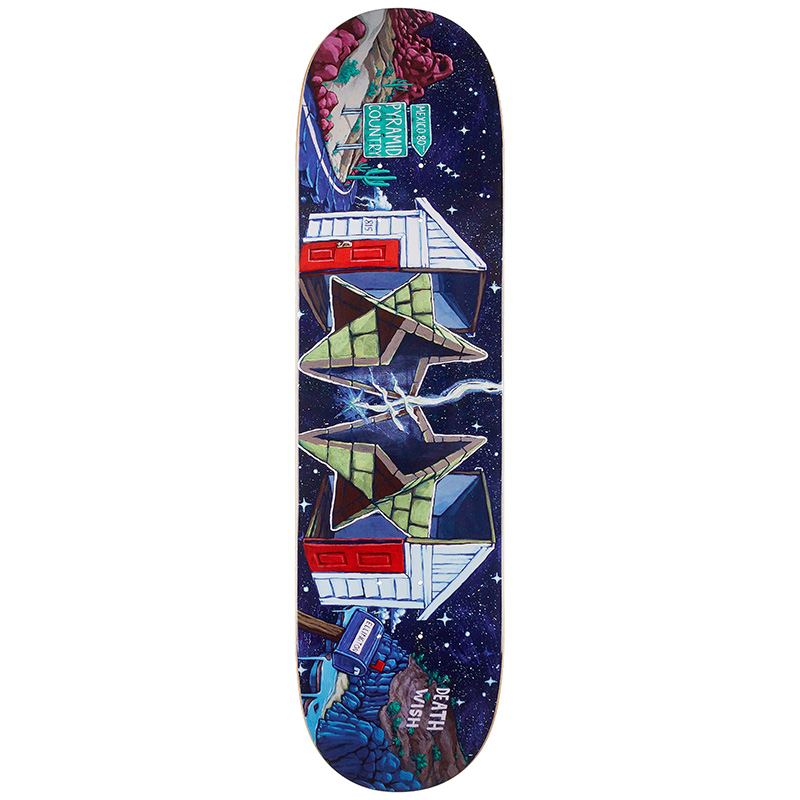 Deathwish Erik Ellington Pyramid Country Skateboard Deck 8.25