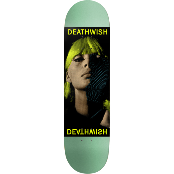 Deathwish Heroine Skateboard Deck 8.5