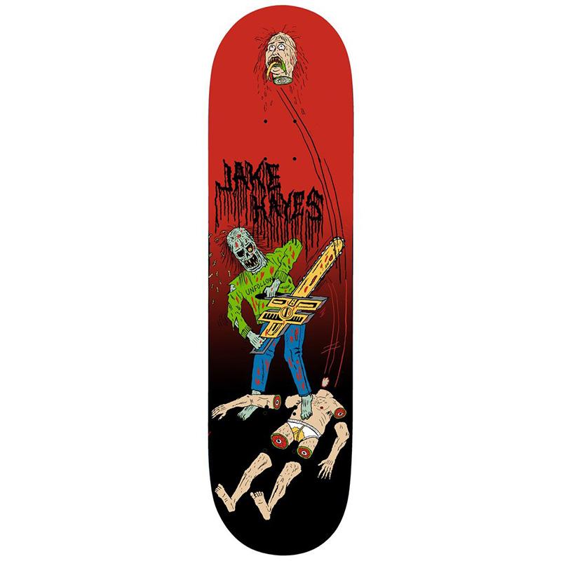 Deathwish Jake Hayes Blasphemy Skateboard Deck 8.25