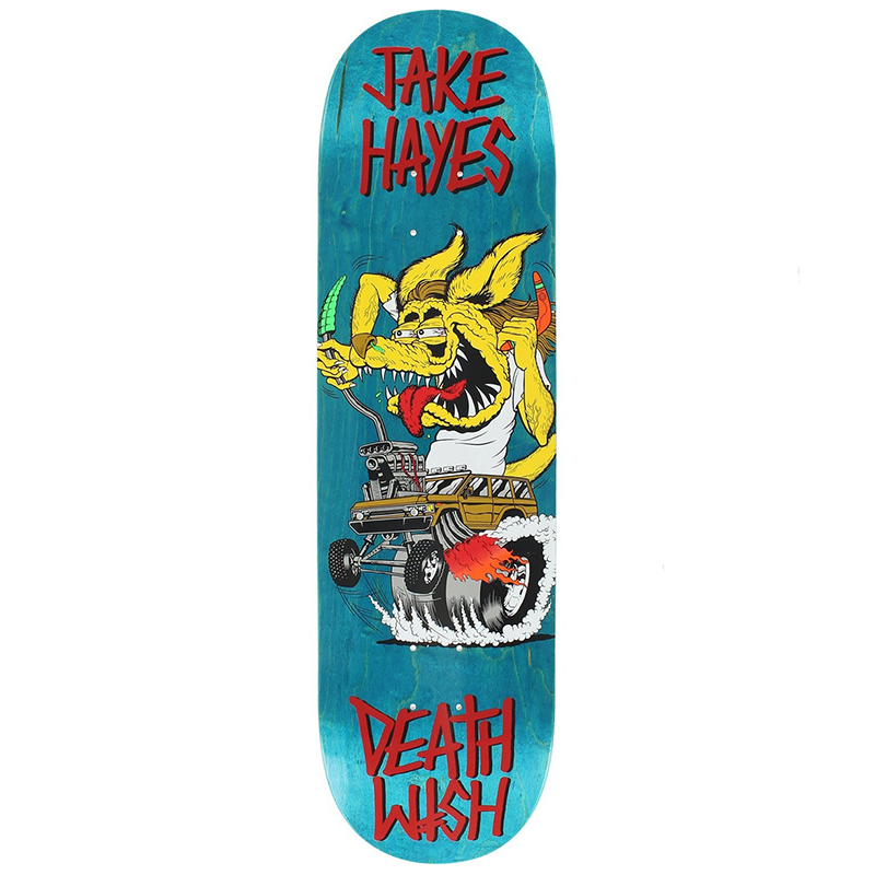 Deathwish Jake Hayes Creeps Skateboard Deck 8.0