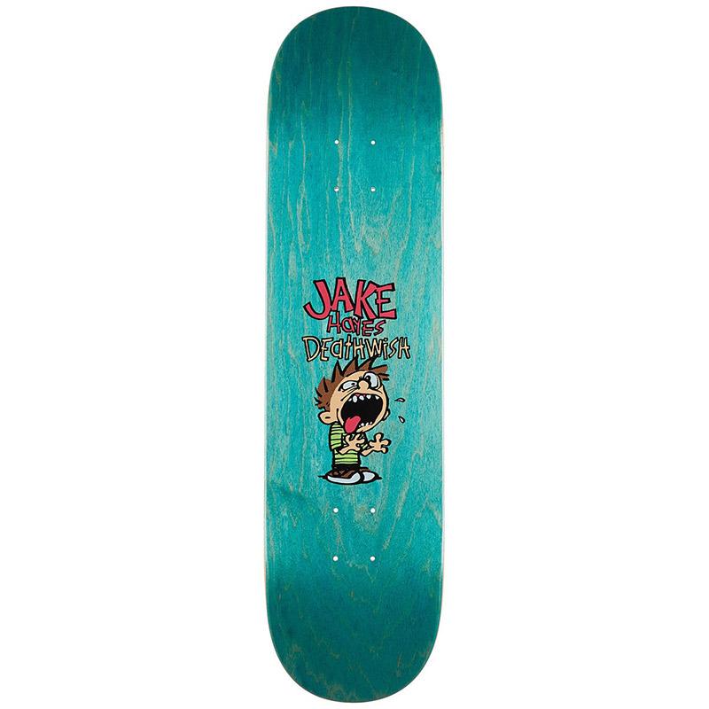 Deathwish Jake Hayes Spaz Skateboard Deck 8.0