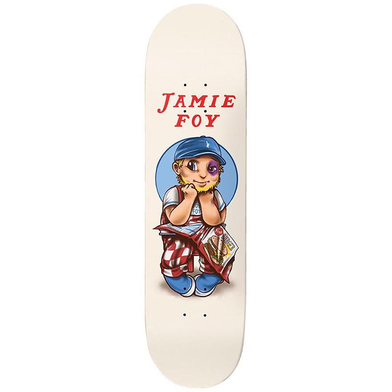 Deathwish Jamie Foy Black Eyed Big Boy Skateboard Deck 8.25