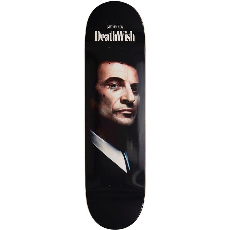 Deathwish Jamie Foy Funny How Skateboard Deck 8.38