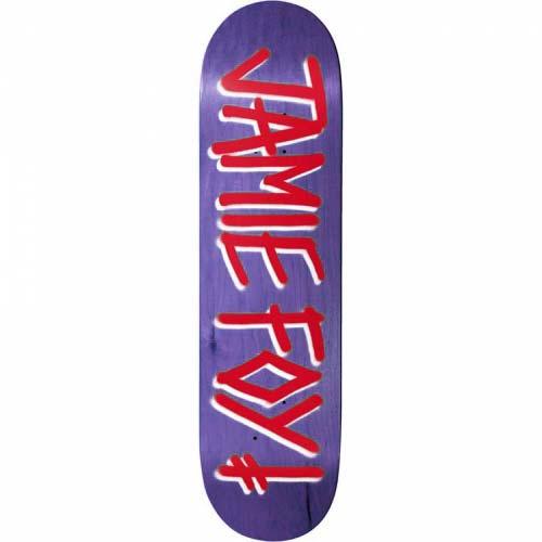 Deathwish Jamie Foy Gang Name Assorted Veneers Skateboard Deck 8.38
