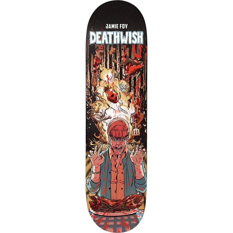 Deathwish Jamie Foy Premonition Skateboard Deck 8.38