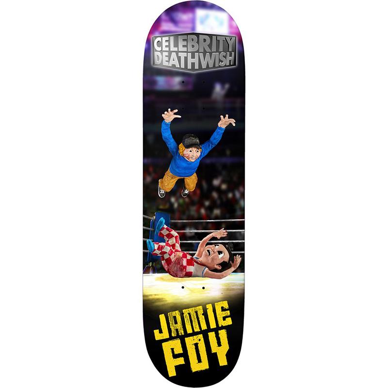 Deathwish JF Celebrity Deathwish Skateboard Deck 8.3875