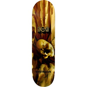 Deathwish Jim Greco Fetus Skateboard Deck 8.3875
