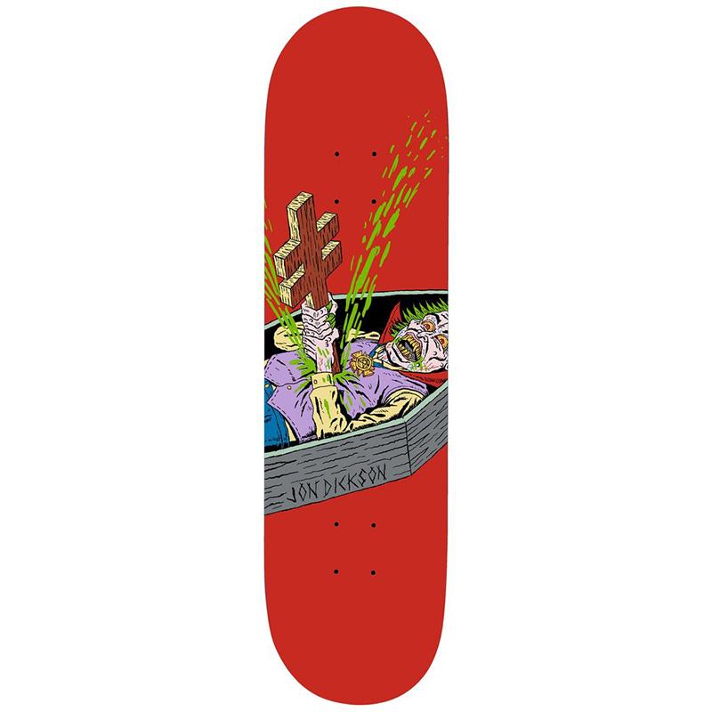 Deathwish Jon Dickson Blasphemy Skateboard Deck 8.125