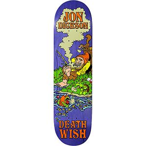 Deathwish Jon Dickson Happy Place Skateboard Deck 8.25