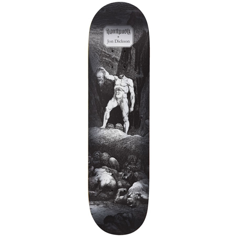 Deathwish Jon Dickson Inferno Skateboard Deck 8.25
