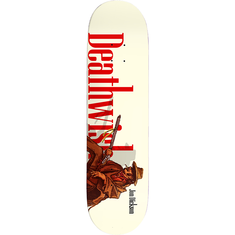 Deathwish Jon Dickson Outlaw Skateboard Deck 8.25