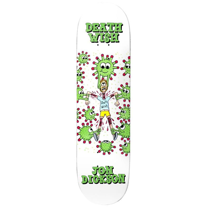 Deathwish Jon Dickson Quarantine Skateboard Deck 8.25
