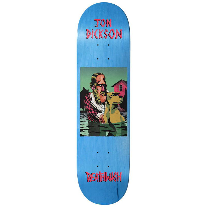 Deathwish Jon Dickson The Pond Skateboard Deck 8.0