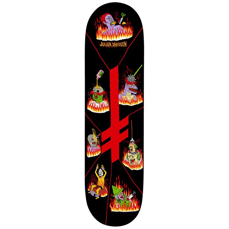 Deathwish Julian Davidson Blasphemy Skateboard Deck 8.5