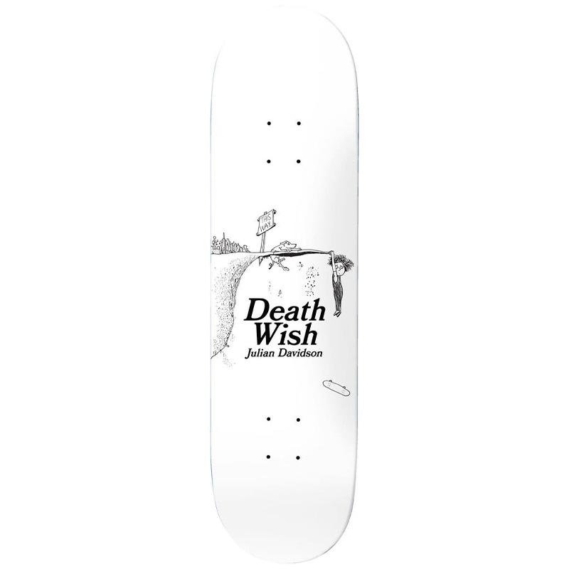 Deathwish Julian Davidson This Way Skateboard Deck 8.0