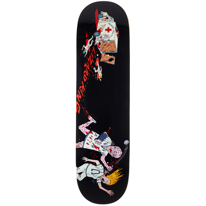 Deathwish Lizard King Escapee Skateboard Deck 8.5