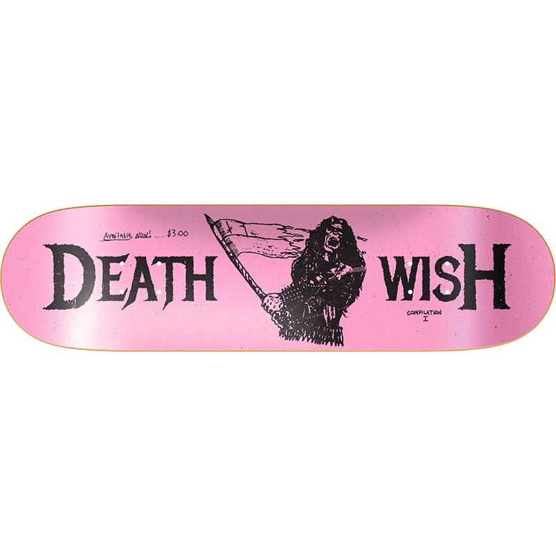 Deathwish Metal Uprising Skateboard Deck 8.125