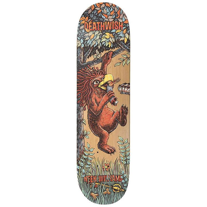 Deathwish Neen Williams Beast Mode Skateboard Deck 8.25