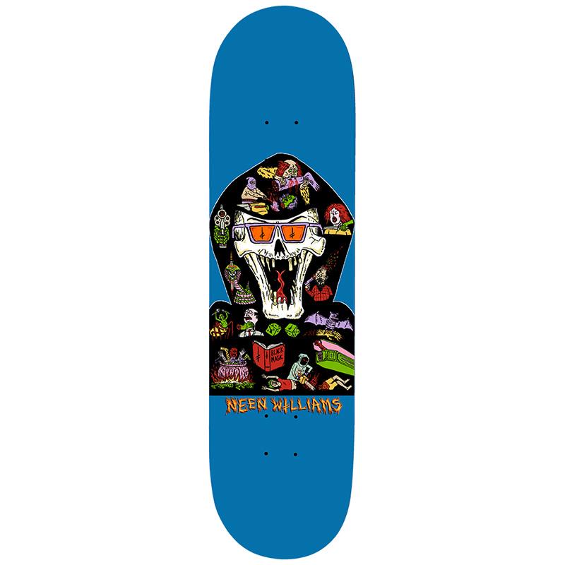 Deathwish Neen Williams Blasphemy Skateboard Deck 8.0
