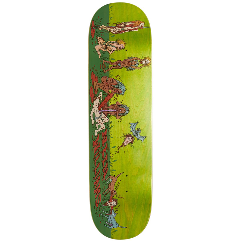 Deathwish Neen Williams Cannibal Village Skateboard Deck 8.38