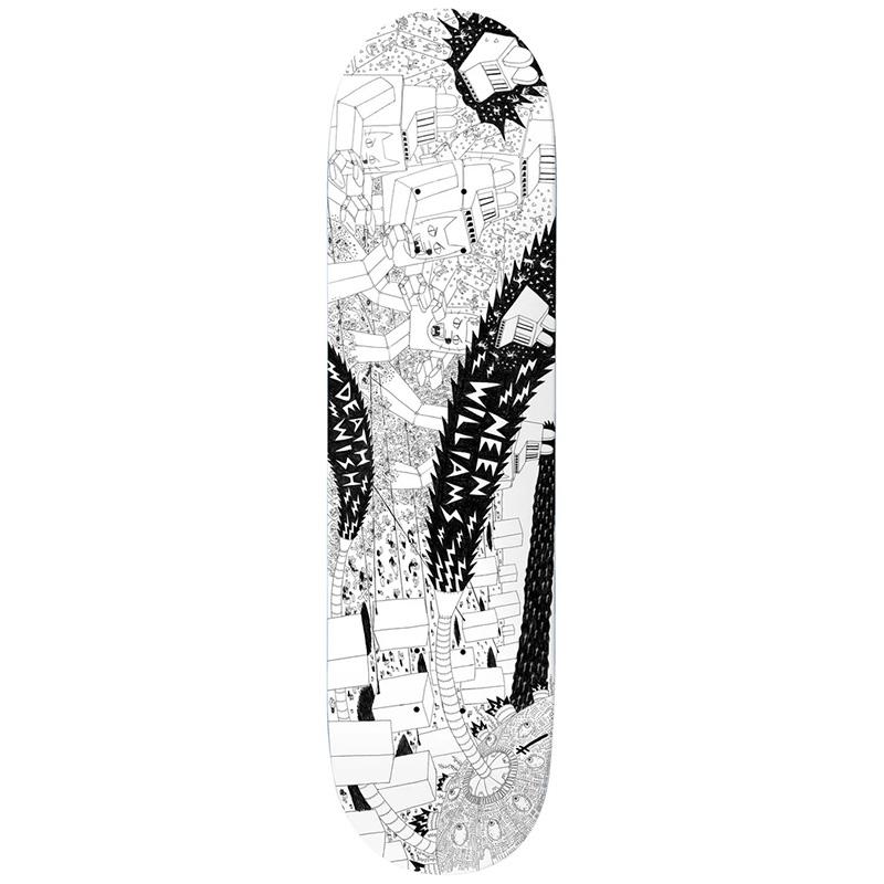 Deathwish Neen Williams Death War 3000 Skateboard Deck 8.3875