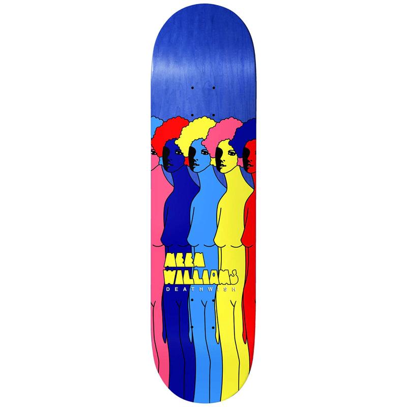Deathwish Neen Williams Women Of Color Skateboard Deck 8.0