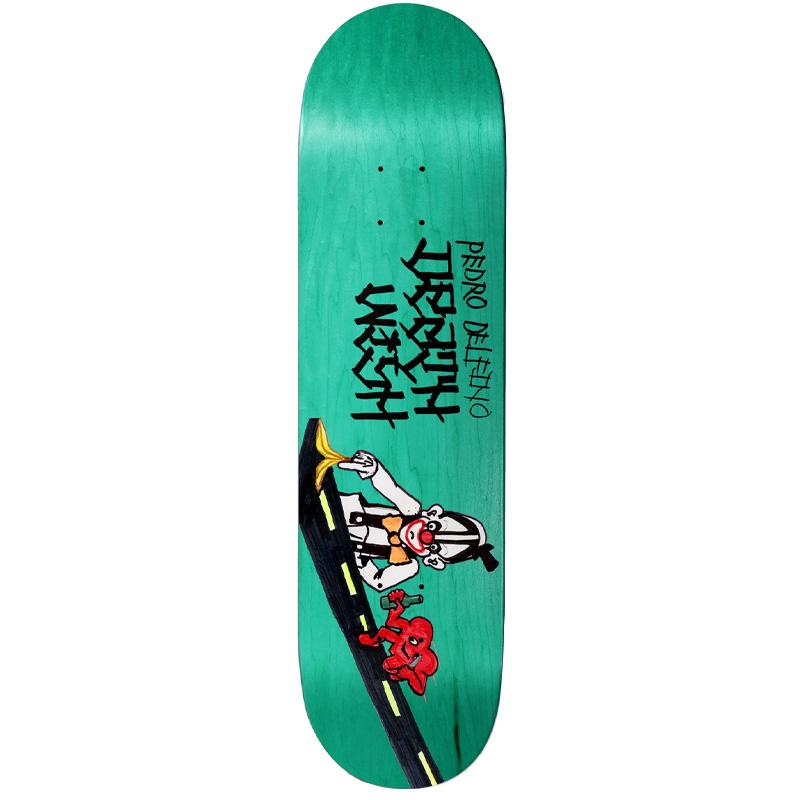 Deathwish Pedro Delfino Chatman Skateboard Deck 8.25