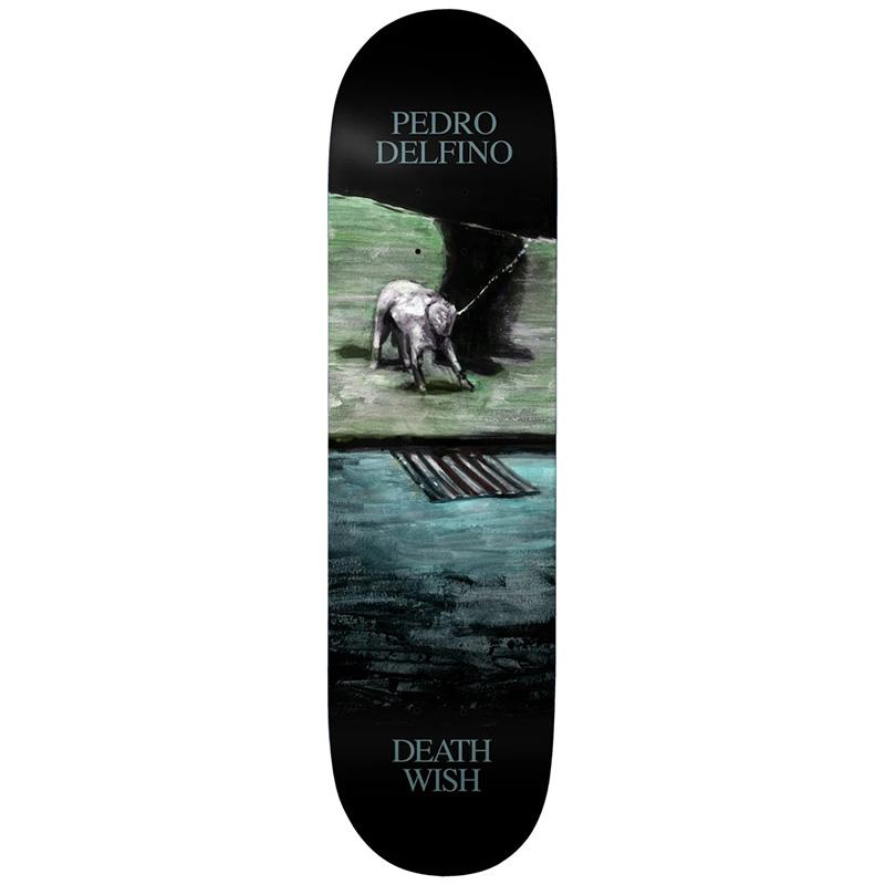 Deathwish Pedro Delfino Dro With Dog Skateboard Deck 8.25