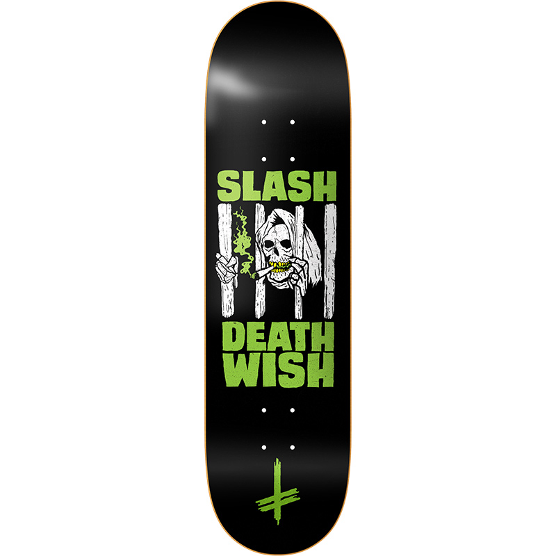 Deathwish Slash Death Sentence Skateboard Deck 8.25