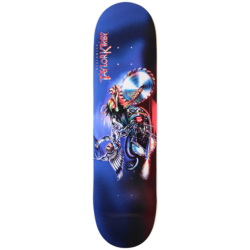 Deathwish Taylor Kirby Metal Meltdown Skateboard Deck 8.0