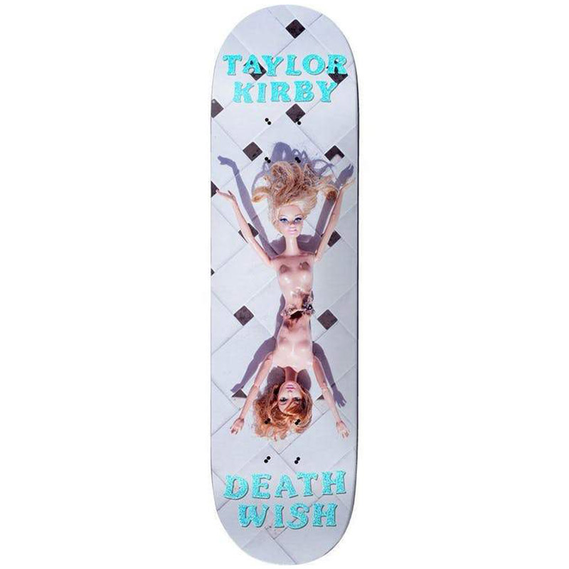 Deathwish Taylor Kirby Plastic Surgery Skateboard Deck 8.125