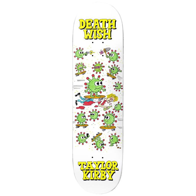 Deathwish Taylor Kirby Quarantine Skateboard Deck 8.38