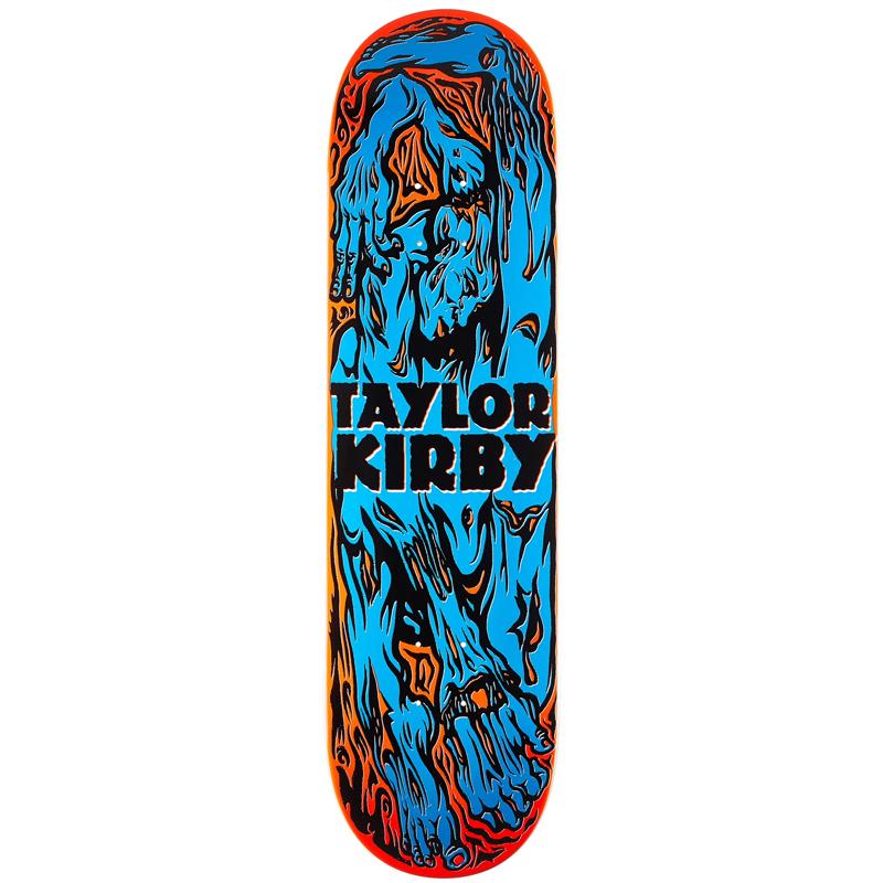 Deathwish Taylor Kirby Rigor Mortis Skateboard Deck 8.5