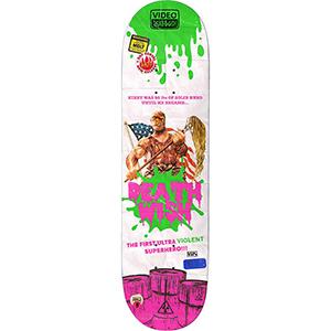 Deathwish Taylor Kirby VHS Wasteland 2 Skateboard Deck 8.3875