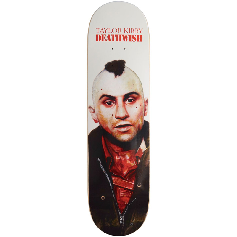 Deathwish Taylor Kirby You Talkin To Me Skateboard Deck 8.25