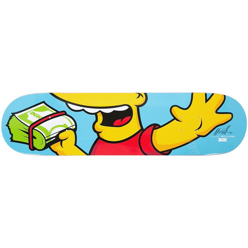 DGK Iconic Williams Skateboard Deck 8.0
