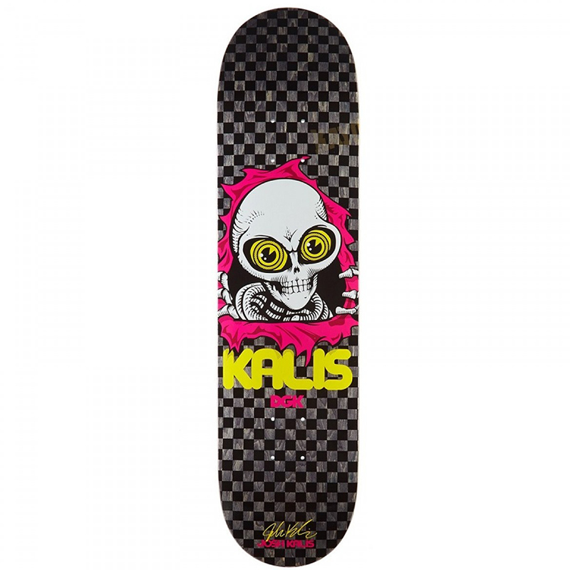 DGK Ripping Kalis Skateboard Deck 7.8