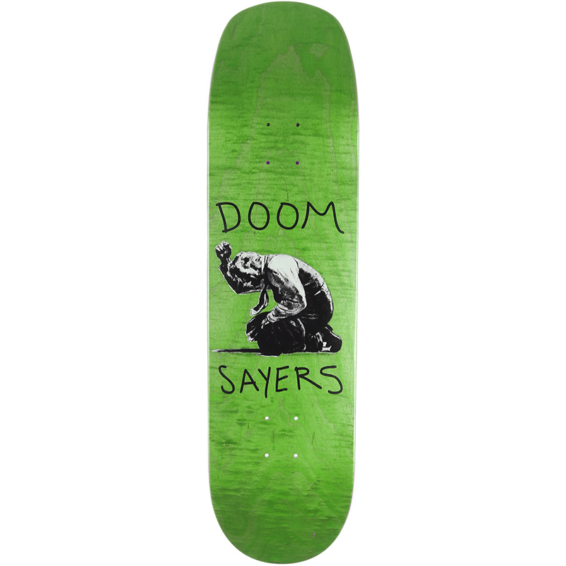 Doom Sayers Death Of A Salesman Shovel Skateboard Deck Assorted Colors 8.4