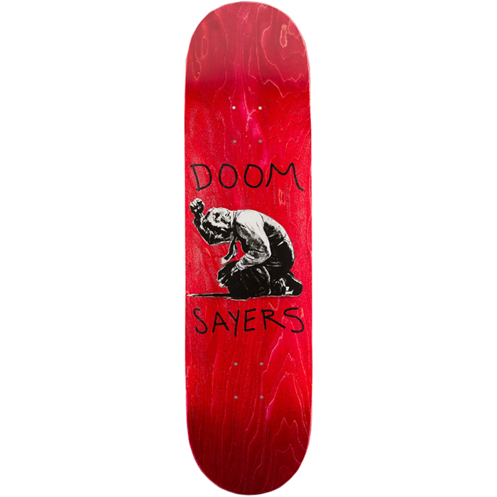 Doom Sayers Death Of A Salesman Skateboard Deck Assorted Colors 8.08