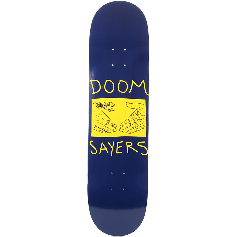Doom Sayers Snake Shake Skateboard Deck 8.38